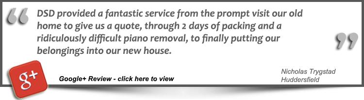 House Removals Huddersfield