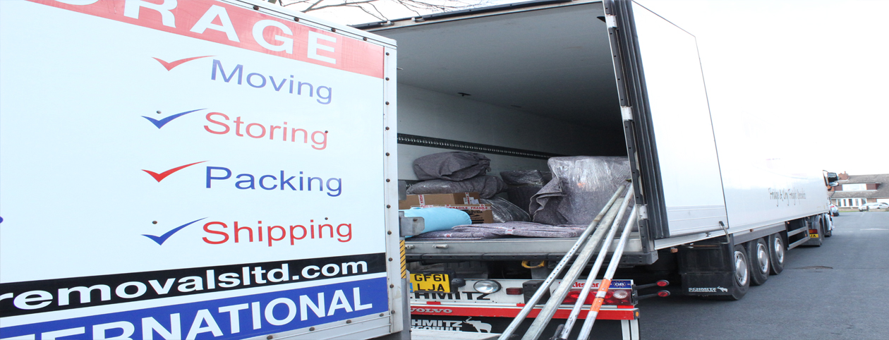 Overseas Removals - DSD Removals