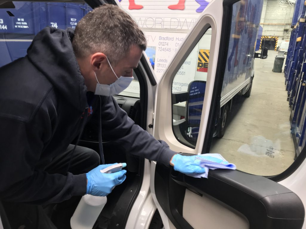 Working Safely During Covid 19 - DSD Removals and Storage